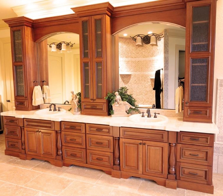 Custom wood work vixon custom cabinets for Custom wood cabinets